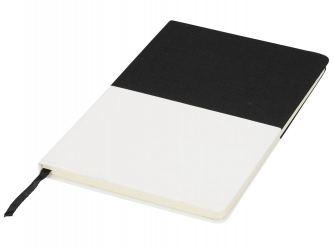 Блокнот А5 двухцветный, черный