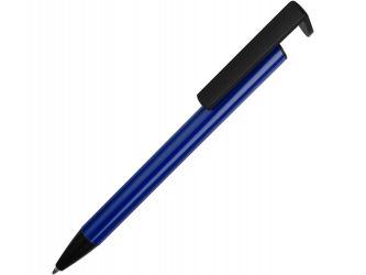 Ручка-подставка шариковая Кипер Металл, синий