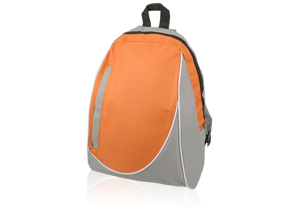 Рюкзак Джек, серый/оранжевый (Р)