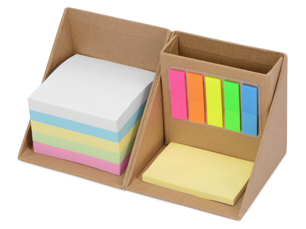 Настольная подставка с блоком для записей Desk