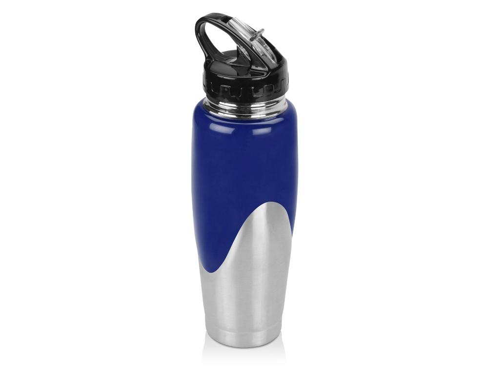 Бутылка спортивная Олимпик 800мл, синий (Р)