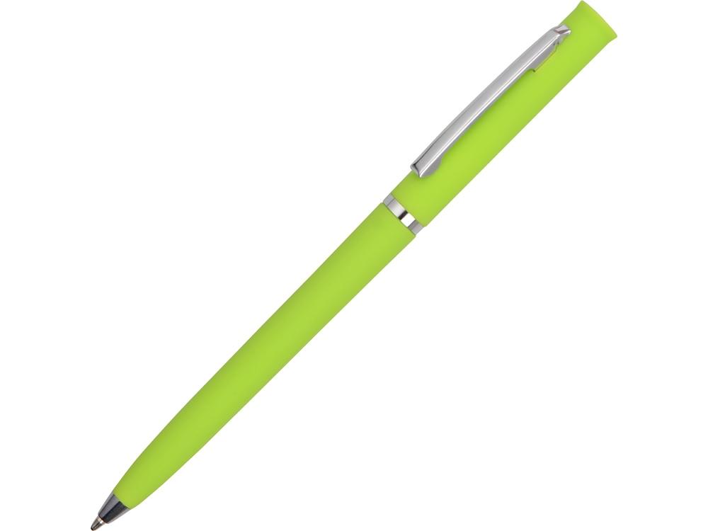 Ручка шариковая Navi soft-touch, зеленое яблоко