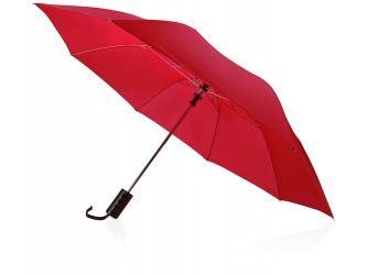 Зонт складной Андрия, красный