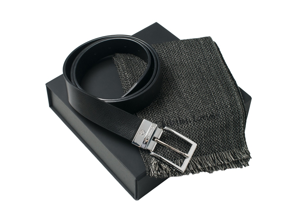 Подарочный набор: шарф шерстяной, ремень. Christian Lacroix