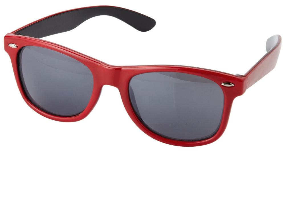 Очки солнцезащитные Crockett, красный/черный (Р)